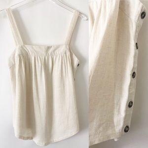4/$25 ❤️ Universal Thread linen blend tank top